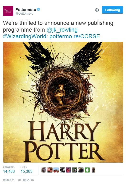 Pottermore Announcement