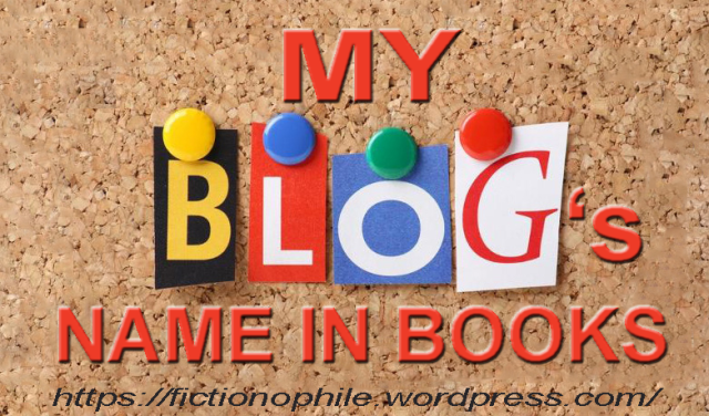 Introducing My Blog's Name in Books Tag | Fictionophile