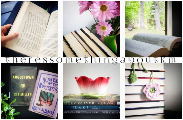 June 2019 Bookstagram Collage Wrap-Up | There's Something About KM