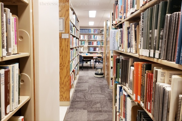 Maine State Library Stacks | Book Collection