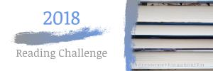 2018 Reading Challenge Header Photo